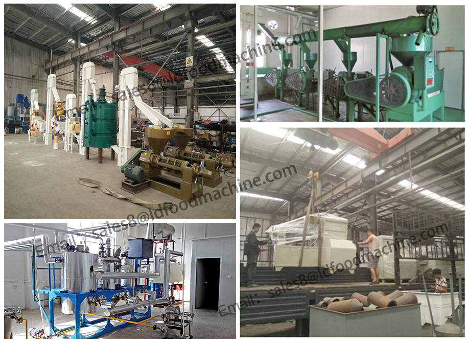 40TPD Crude peanut oil extraction process machine