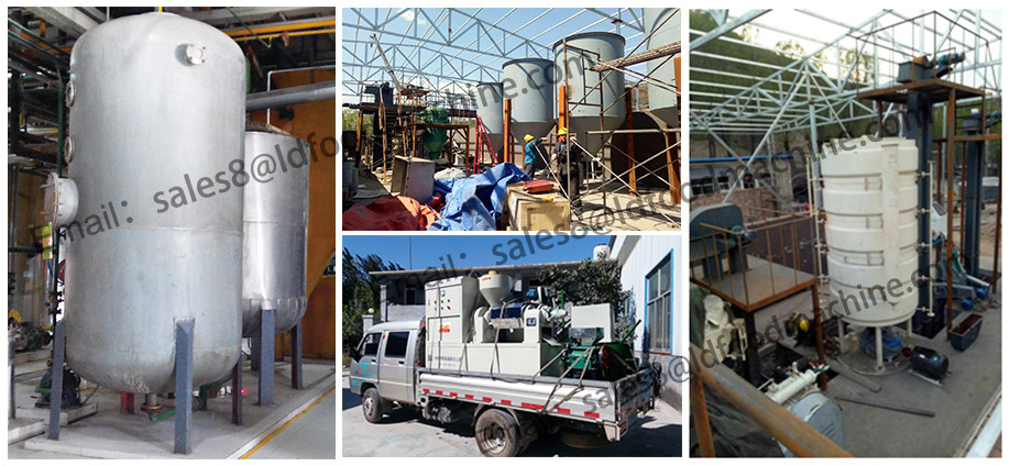 Leader'e company machine mini sunflower oil refinery for sale