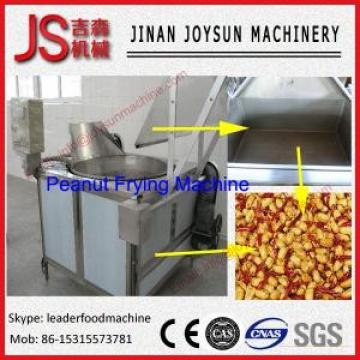 Peanut Roasting Machine Automatic Batch Frying Machine 100 - 200kg / h
