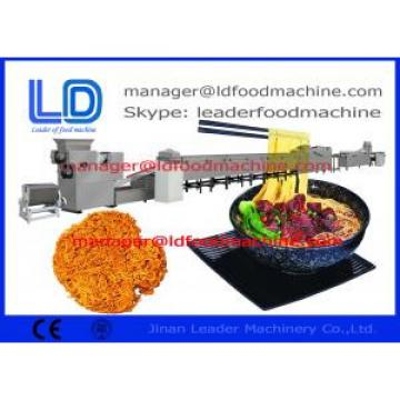 Auto Snack Making Machine , Ramen / Instant Noodles Food Processing Line