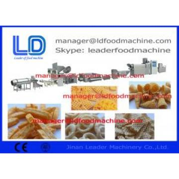 Twin Screw Extruded Pellet Frying Snacks Machine , Extruded Potato Pellet Machinery