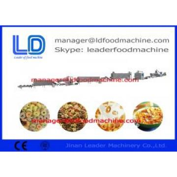 Gas Snack Making Machine  , Corn Flakes And Breakfast Cereals Processing Line