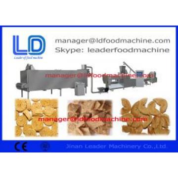EU Standard Snack Making Machine , 180kg/h Soybean Protein Food Making Machine