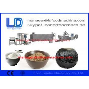 Screw Self-cleaning Sesame Paste / Beans Powder Rice Powder Making Machine