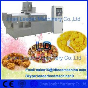 Breakfast Cereals Corn Flakes Making Machine Extruded Processing Line