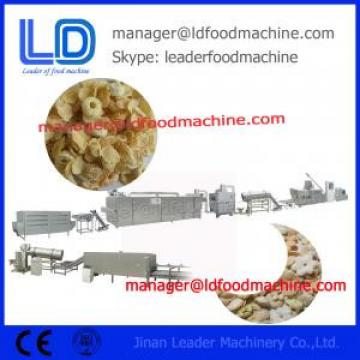 Crispy Corn Flakes Machinery / Stainless Steel Grain Processing Equipment