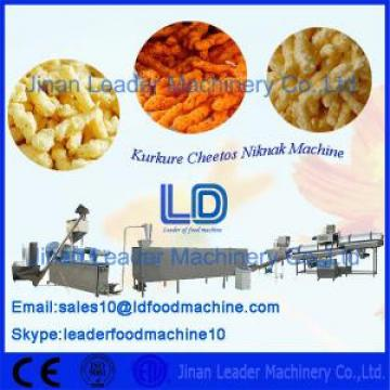 Stainless Steel Corn Curls Kurkure Making Machine for Making Twist Snacks 125kg / h