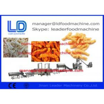 Auto Fried Niknaks kurkure Making Machine , Three Phase Cheetos Machinery