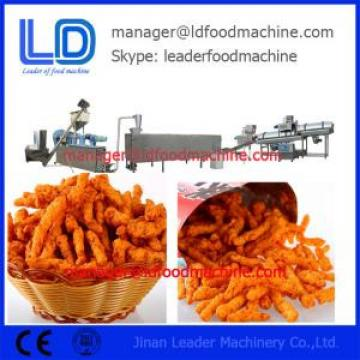 High Capacity Food Extruder , Kurkure Making Machine With Simons Motor