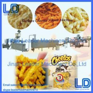 Automatic Fried Nik Naks Kurkure Making Machine , Three Phase Cheetos Machinery