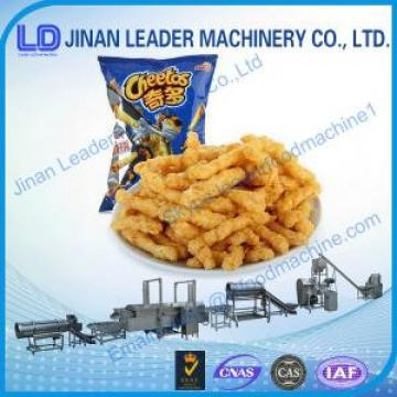 Auto Fried Kurkure Making Machine , Cheetos Snacks Food Extruder