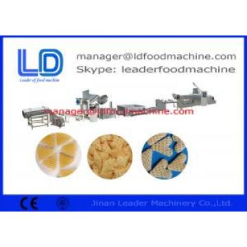 Fried Wheat 3D Snack Pellet Machinery 3D Pellet Snacks Process Line