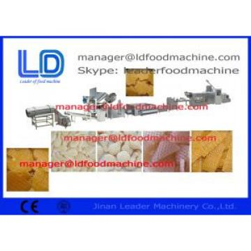 Puffed food / Breakfast Cereals 3D Snack Pellet Machinery , 100kg/h - 300kg/h