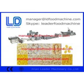 Low consumption Single Screw 3D 2D Fry Snack Pellets Extruding Machine