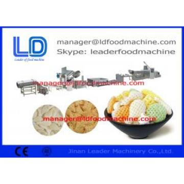 Breakfast Cereals 3D Snack Pellet Machinery With 38CrMoAL Screw