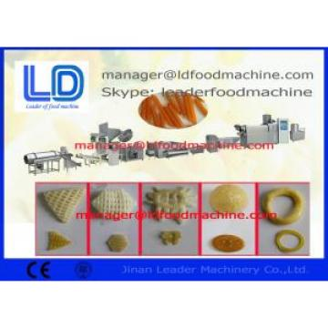Diesel  Electric Extruded Fried Wheat Potato Cassava Tapioca Pellet Food Machine