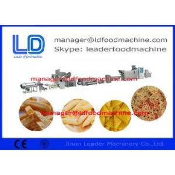 Shrimp Chips 3D Pellet Extruded Pellet Frying Snacks Machine Drying / Frying / Flavoring Chips