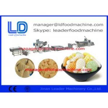 Puffed Food 3D Snack Pellet Machinery  Single Screw Extruder equipment