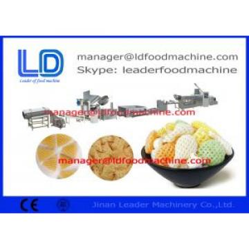Cassava Starch  Corn Starch 3D Snack Pellet Machinery For Snack Food Making