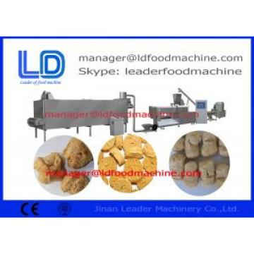 Extruder Soybean Processing Equipment  high performance For Snack Plant