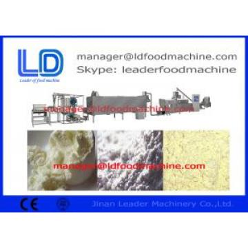 automatic extruded nutritional sesame powder food processing machinery , 500kg / h