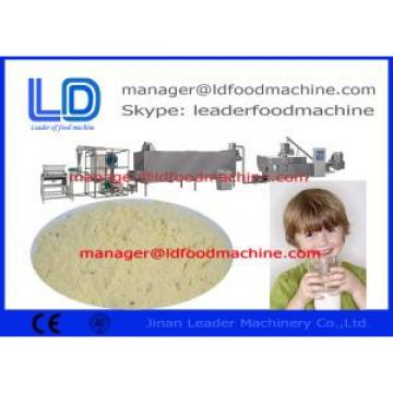 Sanitation Baby Rice Powder Making Machine / Extruder Food Machine
