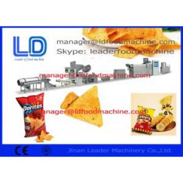 High Speed Fried Food Snack Chips / Pellet Tortilla Machine , 220kg/h