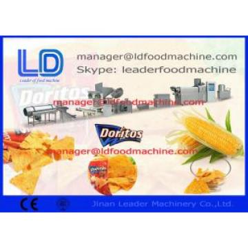 Healthy Tortilla / Corn Chips Making Machine Processing Triangle / Round Snacks