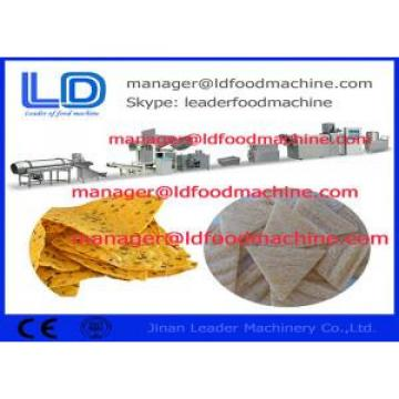 Industrial Tortilla Doritos Maize Corn Chips Making Machine / Grain Processing Machinery