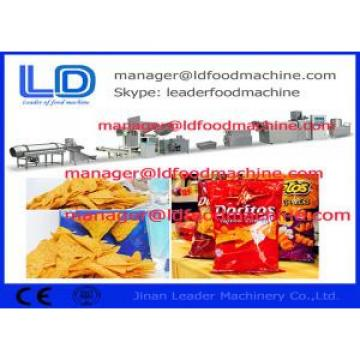 High Speed Fried Food Corn Chips Making Machine 37kw , 220kg/h