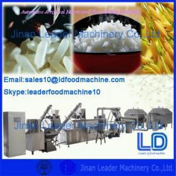 Food Grade  Stainless Steel Three Phase Artificial Rice Making Machine