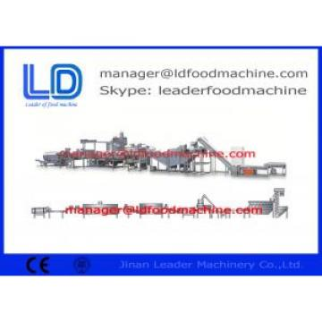 Industrial Electric Fried Automatic Potato Chips Making Machine / Extruded Snacks Machiner