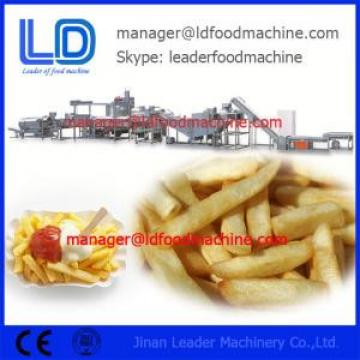 Industrial Electric Fried Automatic Potato Chips Making Machine / Extruded Snacks Machinery