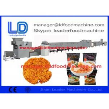 Multi-functional wide output range  food frying machine Instant Noodle Production Line