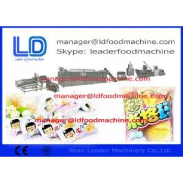 cereal snack Core Filling Snacks Food Processing Line Baking rice bread / cracker