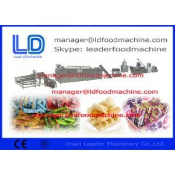 Inflating Snacks Making Machines processing corn / rice flakes , cereal machine