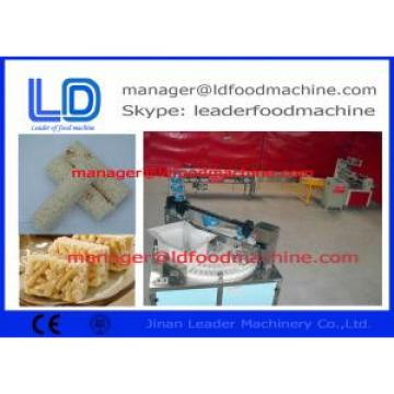 Nutrition Caramel / Fruit / Grain Food Energy Bar Maker / Extruded food production line