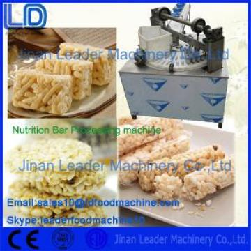 Easy operation best nutrition bar food processing equipment company
