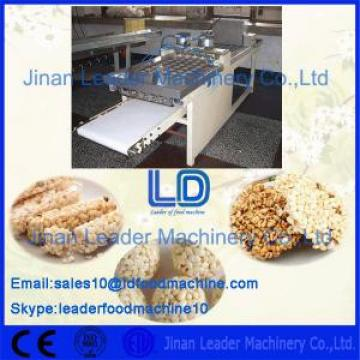 Stainless steel sports nutrition bar food processing and packaging machine