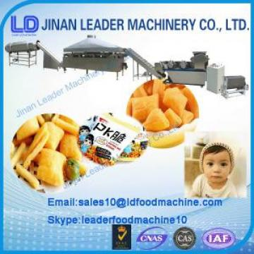 Easy operationFried Wheat Flour Snacks Making Machine snack superior food machinery