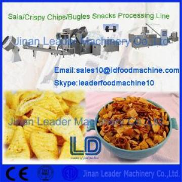 Double Screw Extruder Bugles Making machine frying / Flavoring sticks
