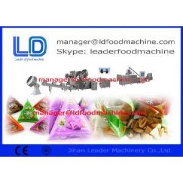 frying / Flavoring Bugles Making Machine , high efficiency extruded food processing line