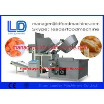 electric / gas snacks pellets food frying machine Nuts / Beans / Pellets frying