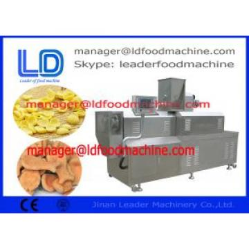 double screw food extruder for snack foods