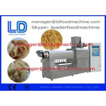 snack pellet single screw extruder