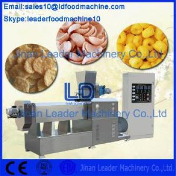 Twin Screw / Double Screw Food Processing Machinery Snack Food Extruder