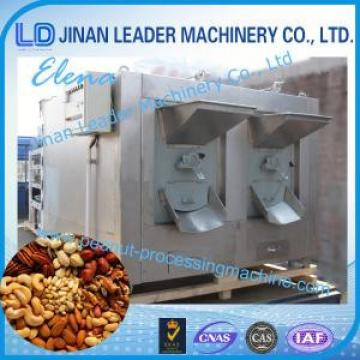 Gas Heating Peanut Processing Machine Roasted For Walnuts / Nuts