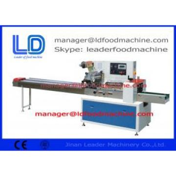 horizontal PLC pillow Food Packing Machines for Commodity / Medical / Chemical packing