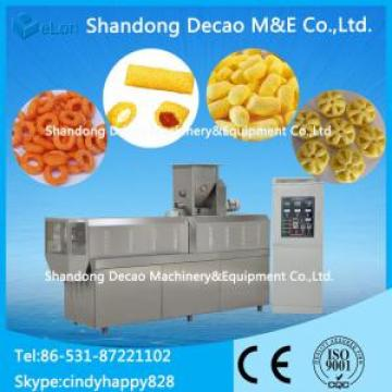 100-150KG/H twin screw extruder for puffing snack food line / snacks food corn puffed