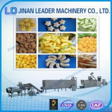 Puffed snack food processing machine wheat puff making machine